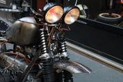 moto enfer 2 arzee creaions lafayette 2 roues tarek jaafar paris custom bike bmw r65 madmax
