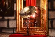 fleur d'enfer d'Arzée création luminaire, sculpture objet d'art métallique Tarek et Esther Nasser , givraines loiret